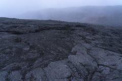 De Erta-Aalvulkaan in de Danakil-Depressie in Ethiopi?, Afrika stock foto's