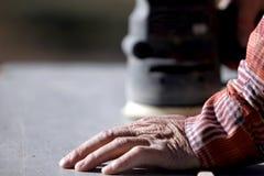 De ervaren Schuurmachine van de Hand & van de Macht #2 Stock Afbeeldingen