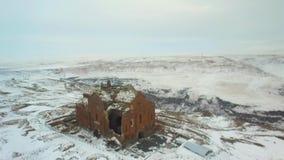 De Erzurum stad-Winter