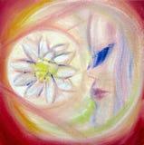 De escapist van de bloem royalty-vrije illustratie