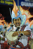 de Escola jacarepagua renascer samba Zdjęcie Royalty Free