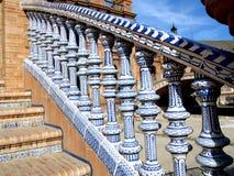 de espana plaza seville spain Royaltyfri Bild