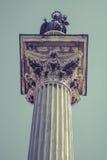 De Esquiline-Obelisk bij het Piazza dell ` Esquilino vierkant naast Heilige Mary Major Royalty-vrije Stock Afbeeldingen