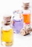 De essentiële oliën van Aromatherapy Royalty-vrije Stock Afbeeldingen