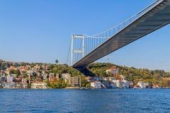 De Estambul puente en segundo lugar Bosphorus Foto de archivo