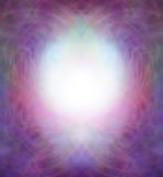 De etherische Symmetrische Grens van het Energiegebied Stock Foto's