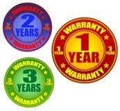 De etiketten van de garantie Royalty-vrije Stock Afbeeldingen