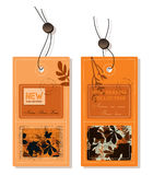 De etiketten van de herfst Royalty-vrije Stock Afbeeldingen