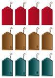 De etiketten van de kleur Stock Fotografie