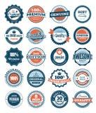 De etiketten van de Kwaliteit van de premie Stock Fotografie