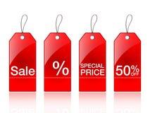 De etiketten van de verkoop Royalty-vrije Stock Afbeelding
