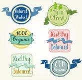 De etiketten van Eco Royalty-vrije Stock Afbeeldingen