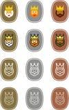 De etiketten van Magikerstmis Royalty-vrije Stock Foto's