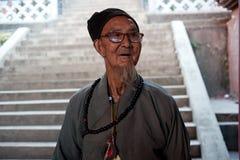 De etnische minderheden van China, de oude dame van Yi Stock Foto's