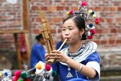 De etnische minderheidmensen van dong Stock Afbeeldingen