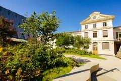 De Etnografiemuseum van Genève Royalty-vrije Stock Foto