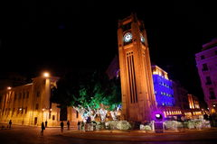 de etoile l parlamentu libański miejsce fotografia stock