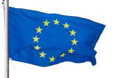 De EU-geïsoleerde fla Royalty-vrije Stock Fotografie