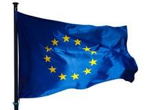 De EU-geïsoleerde fla Royalty-vrije Stock Afbeeldingen