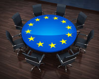 De EU van de cirkellijst Stock Foto's