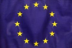 De EU-vlag stock afbeelding