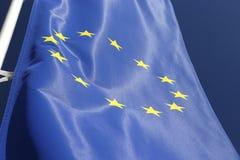 De EU-vlag Royalty-vrije Stock Afbeelding