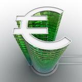 De euro bouw Stock Afbeeldingen