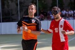 2de Euro de Uitdagingskop van IBSA en Thessaloniki Internationale Blinden Stock Foto