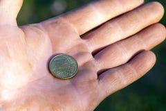 De euro fotografeerde dicht omhoog Stock Afbeelding