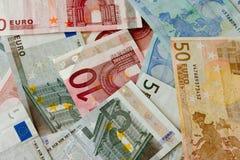 De euro van Billetes DE Royalty-vrije Stock Foto