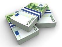 De euro van Handred stock illustratie