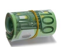 De euro van het broodje. royalty-vrije stock foto's