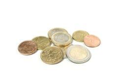 De Euro van het geld Stock Foto's