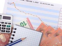 De euro van Monay Stock Foto