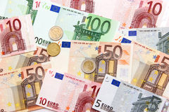 De euro van Monay Royalty-vrije Stock Fotografie