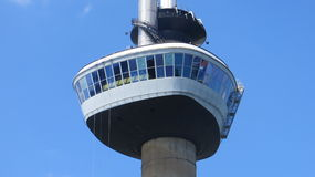 De euromast. In Rotterdam. I toke this photo with an telephoto lens from the ground Stock Photo