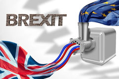 De Europese alliantie van Groot-Brittannië en vector illustratie