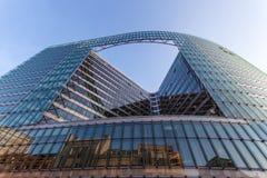 De Europese Commissie de Bouw in Brussel Stock Foto's