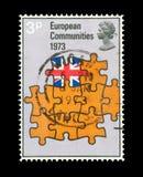 De Europese Gemeenschap Royalty-vrije Stock Foto