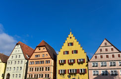De Europese traditionele bouw Royalty-vrije Stock Fotografie