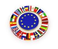 De Europese Unie. Stock Foto's