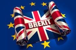 De Europese Unie van Groot-Brittannië en verhoudingen Royalty-vrije Stock Foto's