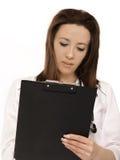De Evaluatie van de Gezondheid van de arts Stock Afbeeldingen