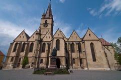 De evangelische kerk Stock Afbeelding