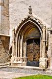 De evangelische Kerk in Sebes Royalty-vrije Stock Afbeeldingen