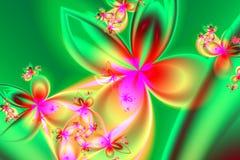 De Evolutie van de lente Stock Afbeeldingen
