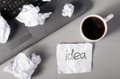 De evolutie van ideeën Stock Fotografie