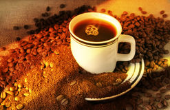 De evolutie van Koffie Royalty-vrije Stock Fotografie