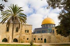 De exotische mening van Jeruzalem Royalty-vrije Stock Afbeeldingen