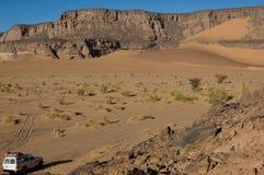 De exploratie van de woestijn Royalty-vrije Stock Afbeeldingen